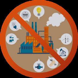 不測かつ突発的な原因による電気、ガス、水道、電話等の供給・中継の中断または阻害